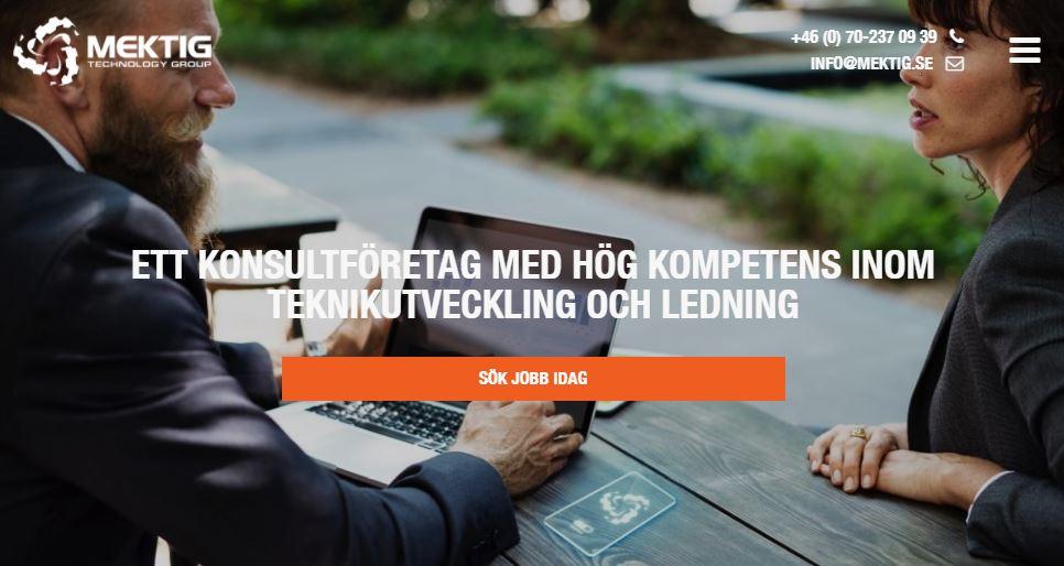 Ny hemsida lanseras under maj 2018